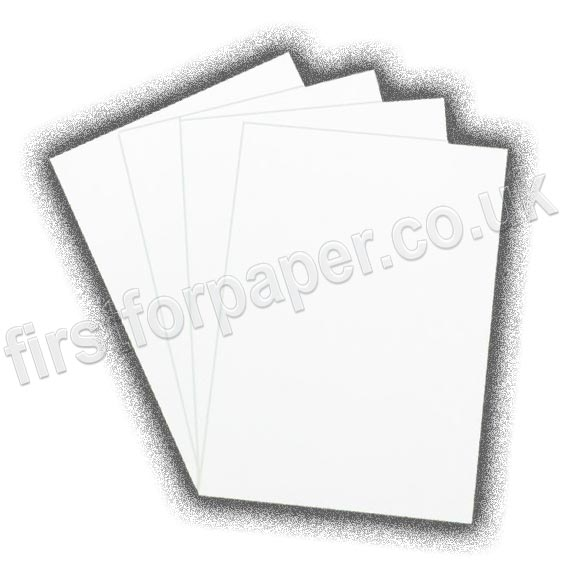 Uncoated, White, Self Adhesive Paper