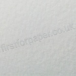 Cumulus Felt Marked Textured Card, White