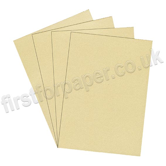 Galaxia Pearlescent Single Sided Card, 310gsm, Ivory
