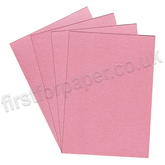 Galaxia Pearlescent Single Sided Card, 310gsm, Pink