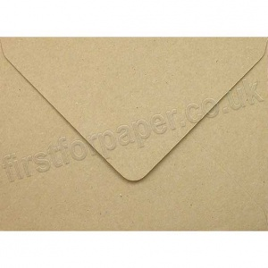 Fleck Kraft Recycled Envelope, 125 x 175mm