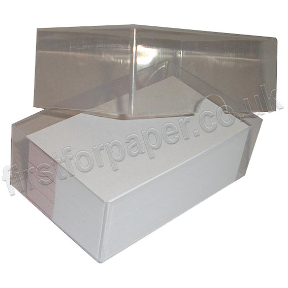 Clear Plastic Business Card Boxes First for Paper