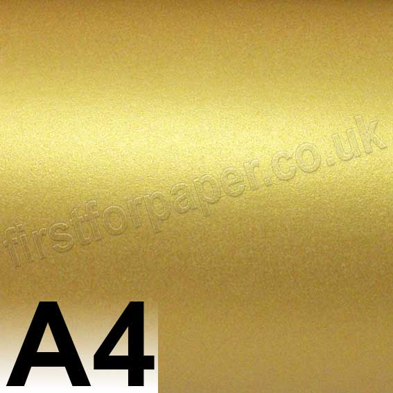 A4 Gold 120gsm Luxury Pearl Paper Stardream A4 Gold