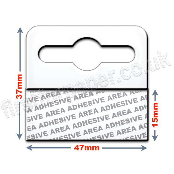 Flexitail Lightweight Self Adhesive Euro Slot Hangers
