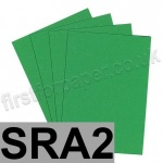 Colorset Recycled Paper, 120gsm, SRA2, Spring Green