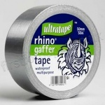 Cloth Tape, Silver Heavy Duty, 50mm X 50m