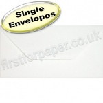 Anvil Hammer, Textured Greetings Card Envelope, DL (110 x 220mm), White