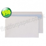 White, DL (110 x 220mm) 100gsm Business Envelopes - Pack of 100