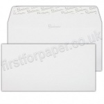Premium Wove Business Envelopes, DL (110 x 220mm) Ice White - Box of 500