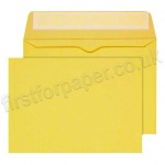 Calypso Colour Envelopes, C6 (114 x 162mm), Golden Yellow - Box of 500