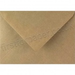 Spectrum Greetings Card Envelope, 125 x 175mm, Ribbed Kraft
