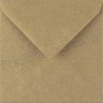 Spectrum Greetings Card Envelope, 130 x 130mm, Ribbed Kraft