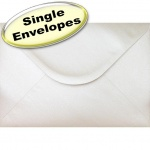 Spectrum Greetings Card Envelope, C5 (162 x 229mm), Pearlescent Oyster White