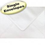 Spectrum Greetings Card Envelope, C6 (114 x 162mm), Pearlescent Oyster White