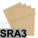 Harrier Speckled Card, 240gsm, SRA3, Tan