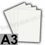 Harrier Speckled Card, 240gsm, A3, Natural White