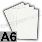 Harrier Speckled Card, 240gsm, A6, Natural White