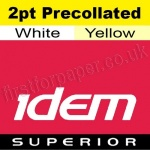 Idem Superior, 2 part pre-collated, A4, 70gsm White/Yellow - 250 sets (500 Sheets)