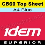 Idem Superior, CB60, Top Sheet, A4, 60gsm Blue - 500 Sheets