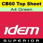 Idem Superior, CB60, Top Sheet, A4, 60gsm Green - 500 Sheets