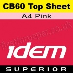 Idem Superior, CB60, Top Sheet, A4, 60gsm Pink - 500 Sheets