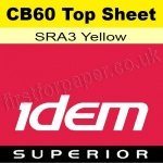Idem Superior, CB60, Top Sheet, SRA3, 60gsm Yellow - 500 Sheets
