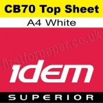 Idem Superior, CB70, Top Sheet, A4, 70gsm White - 500 Sheets