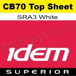 Idem Superior, CB70, Top Sheet, SRA3, 70gsm White - 500 Sheets