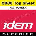 Idem Superior, CB80, Top Sheet, A4, 80gsm White - 500 Sheets