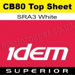 Idem Superior, CB80, Top Sheet, SRA3, 80gsm White - 500 Sheets