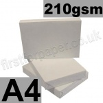 Economy 210gsm White Card, A4 - 200 Sheets