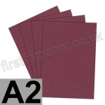Rapid Colour Card, 240gsm, A2, Burgundy