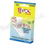 Stix2, 10mm Peelable Hobby & Craft Glue Dots - Pack of 200