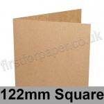 Kreative Kraft, Pre-creased, Single Fold Cards, 225gsm, 122mm Square