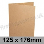 Kreative Kraft, Pre-creased, Single Fold Cards, 225gsm, 125 x 176mm