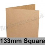 Kreative Kraft, Pre-creased, Single Fold Cards, 225gsm, 133mm Square