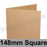 Kreative Kraft, Pre-creased, Single Fold Cards, 225gsm, 148mm Square