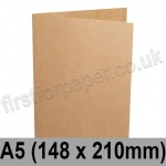 Kreative Kraft, Pre-creased, Single Fold Cards, 225gsm, 148 x 210mm (A5)