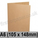 Kreative Kraft, Pre-creased, Single Fold Cards, 225gsm, 105 x 148mm (A6)