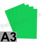 U-Stick, Apple Green, Self Adhesive Paper, A3