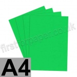 U-Stick, Apple Green, Self Adhesive Paper, A4