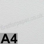 Vicenza Embossed Card, 280gsm, A4, White