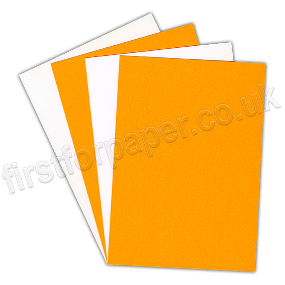 Centura Neon. Dayglo Fluorescent Card, 260gsm, Orange