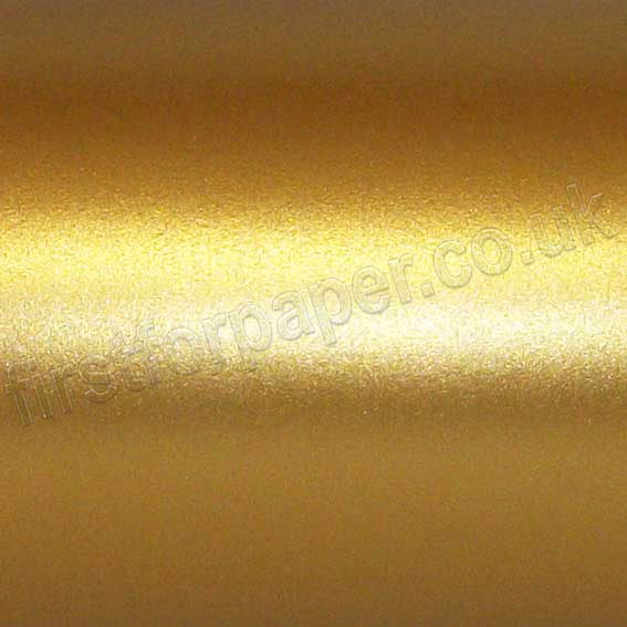 Centura Pearlescent Self Adhesive Paper, Old Gold