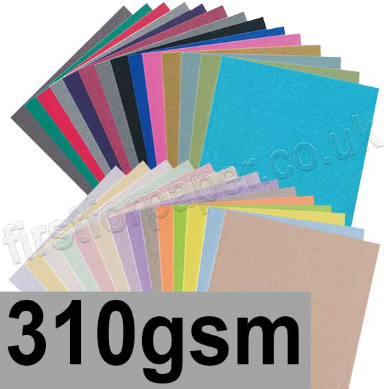 Centura Pearlescent Single Sided Card