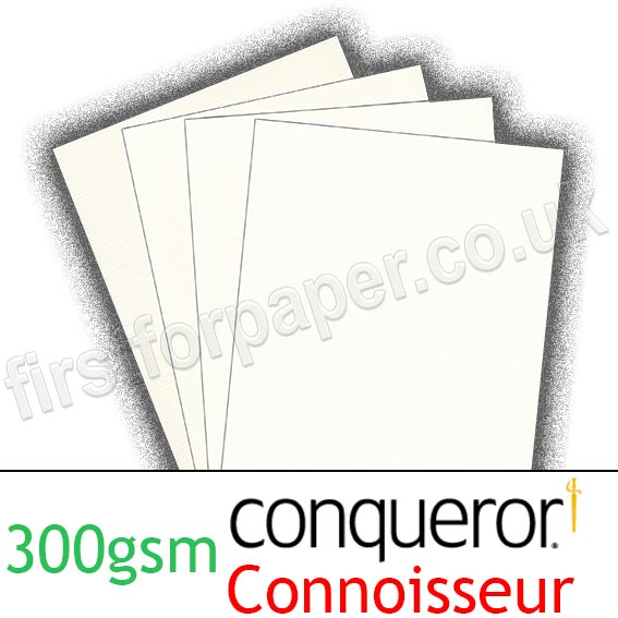 Conqueror Connoisseur, 100% Cotton, 300gsm