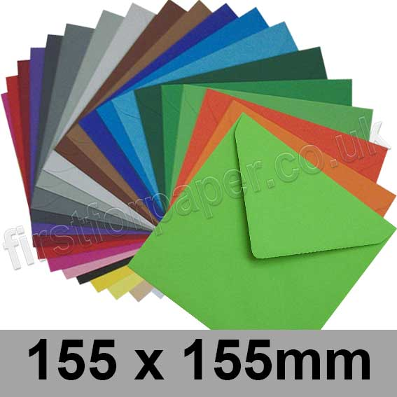 Colorset Envelopes 155 x 155mm