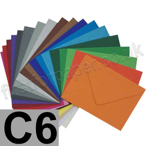 Colorset Envelopes C6 (114 x 162mm)