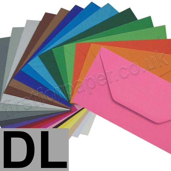Colorset Envelopes DL (110 x 220mm)