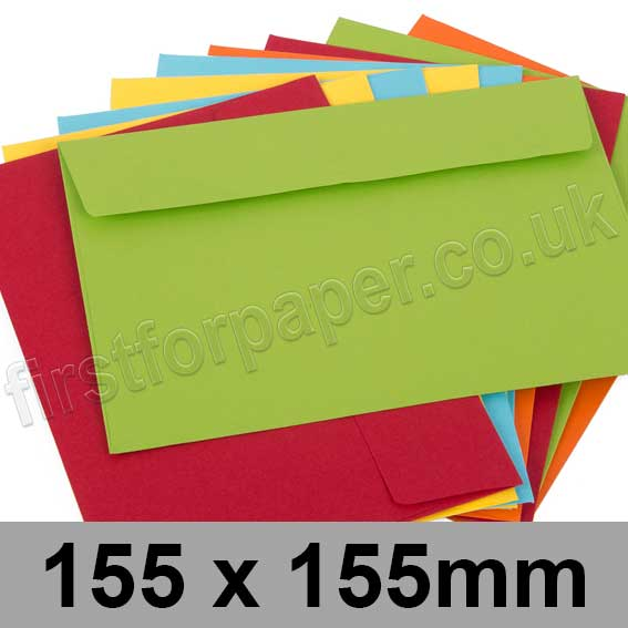 Calypso Colour Envelopes 155 x 155mm
